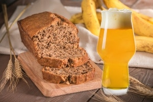 Hefeweiss Banana Beer Bread Recipe