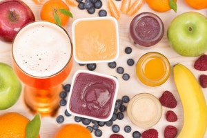 How to prepare fresh fruit to add to your beer during fermentation?