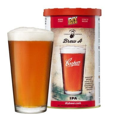 Coopers DIY Thomas Coopers Series Brew A IPA 5 Gallon Refill