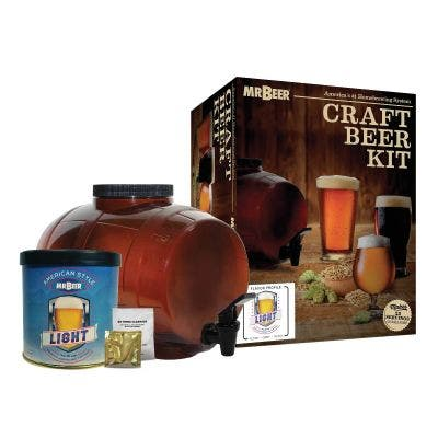 Classic American Light Starter Beer Making Kit