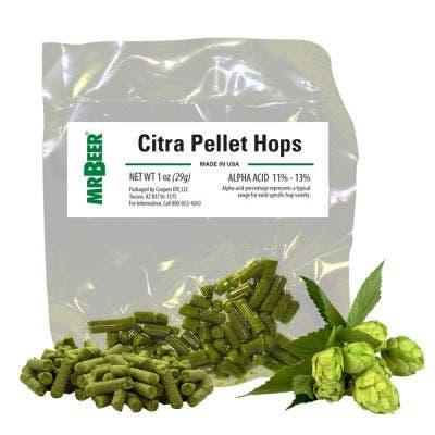 Citra Pellet Hops 1oz Packet