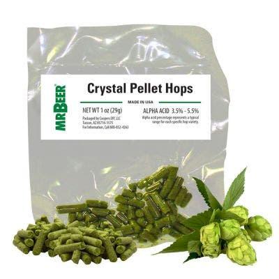 Crystal Pellet Hops 1oz packet