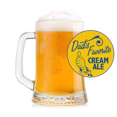 Dad's Favorite Cream Ale Glass
