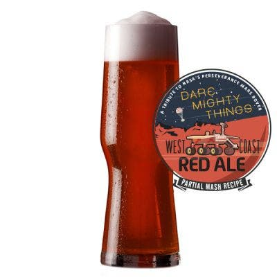 Dare Mighty Things Red Ale