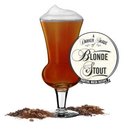 A Darker Shade of Blonde Stout