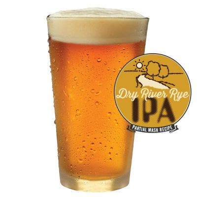 Dry River Rye IPA Glass