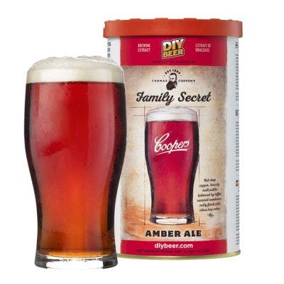 Coopers DIY Thomas Coopers Series Family Secret Amber Ale 5 Gallon Refill