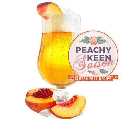 Peachy Keen Saison - Gluten Free - Archived