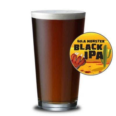 Gila Monster Black IPA Glass