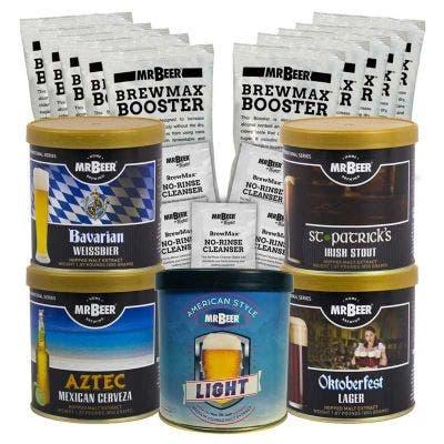 Globetrotter Refill Variety 5 Pack