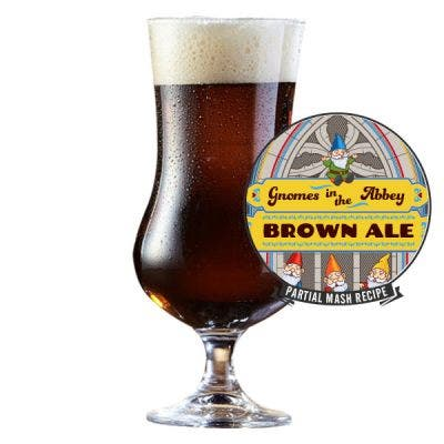 Gnomes in The Abbey Brown Ale