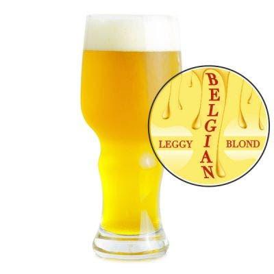 Leggy Blond Belgian Glass