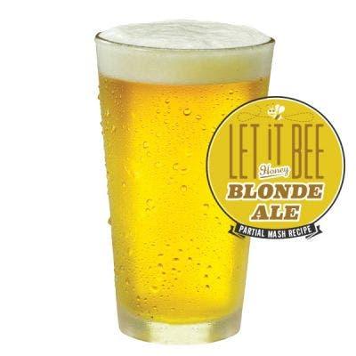 Let It Bee Honey Blonde Ale Glass