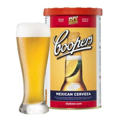 Coopers DIY Mexican Cerveza 5 Gallon Refill