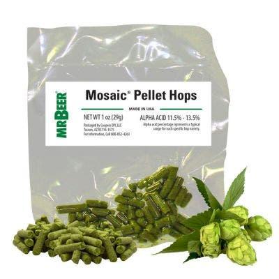 Mosaic Pellet hops