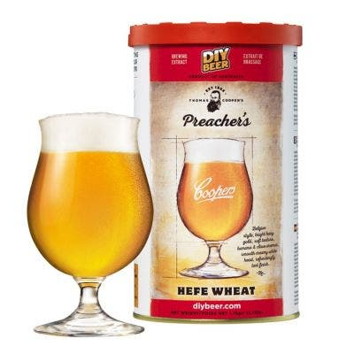 Coopers DIY Thomas Coopers Series Preacher's Hefe Wheat 5 Gallon Refill