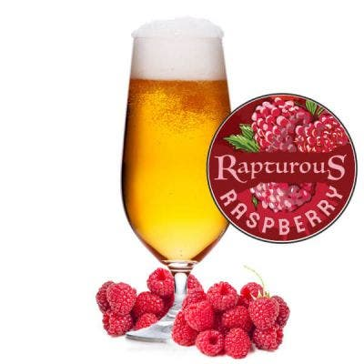 Rapturous Raspberry Glass