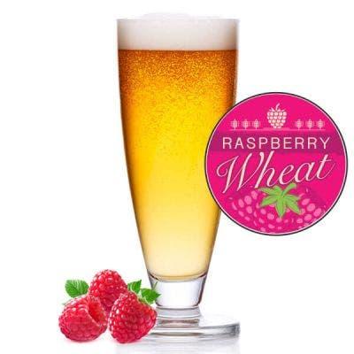 Raspberry Wheat Glass