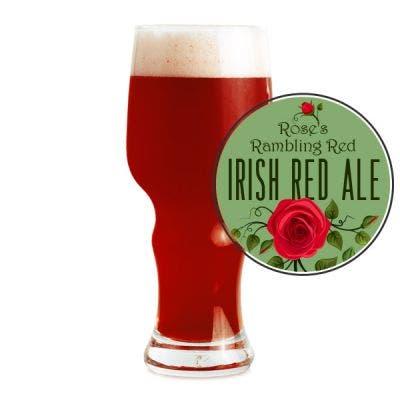 Rose's Rambling Red Glass