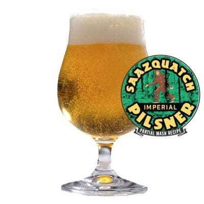 Saazquatch Imperial Pilsner - Archived