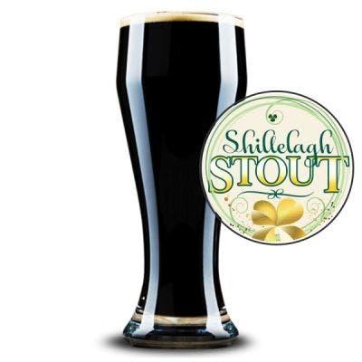 Shillelagh Stout Glass