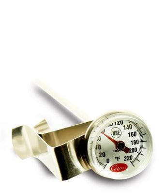 Small Brewing Thermometer w/clip