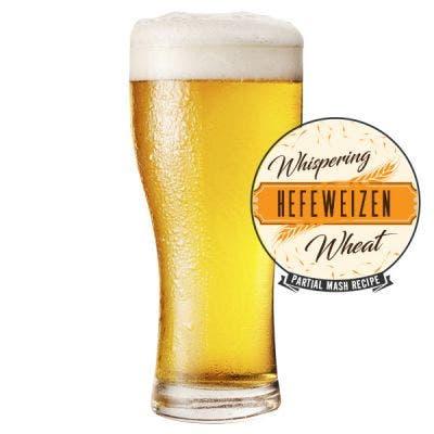 Whispering Wheat Hefeweizen Glass