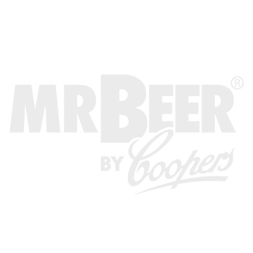 Raspberry Wheat Glass