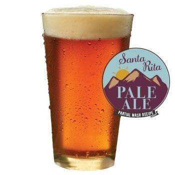 Santa Rita Pale Ale Glass