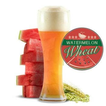 Watermelon Wheat Glass