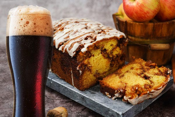 Stout and Apple Breakfast Bread