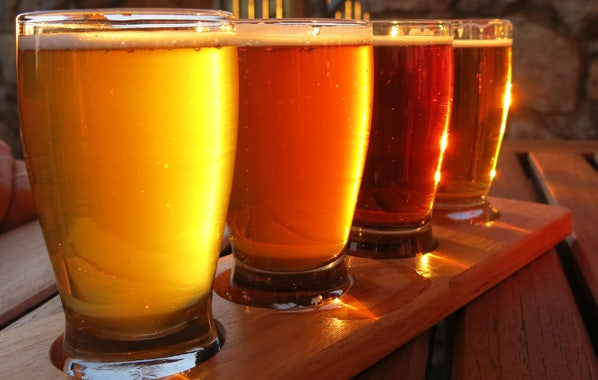 Pale Ale beer style color variations