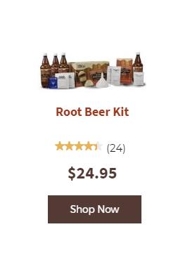 Shop Root Beer kit