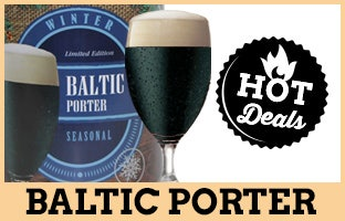 Hot Deals - Save 15% on our Baltic Porter!